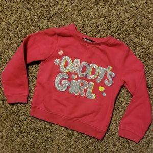 4/$12 Daddy's girl sweatshirt